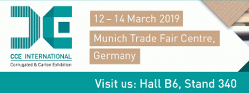 Macarbox at the international Corrugated & Carton Exhibition CCE 2019 in Munich
